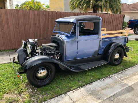 just completed 1931 Ford Model A hot rod pickup for sale