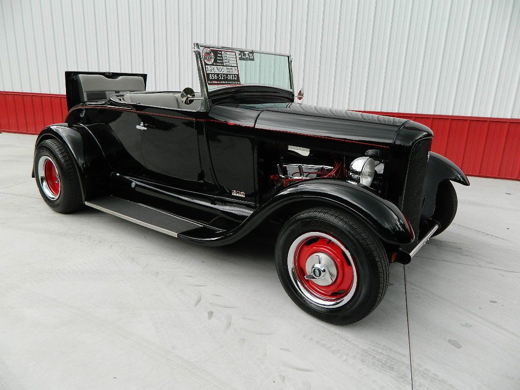 low miles 1930 Ford Model A Roadster hot rod