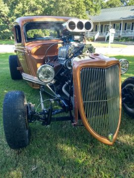 needs finishing 1934 Ford hot rod for sale