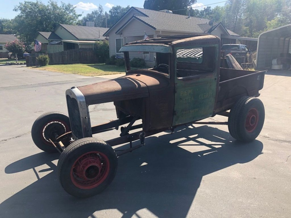 needs restoration 1930 Ford Model A hot rod
