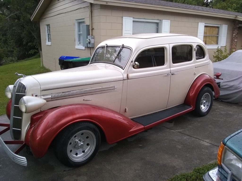 needs TLC 1936 Dodge Sedan hot rod