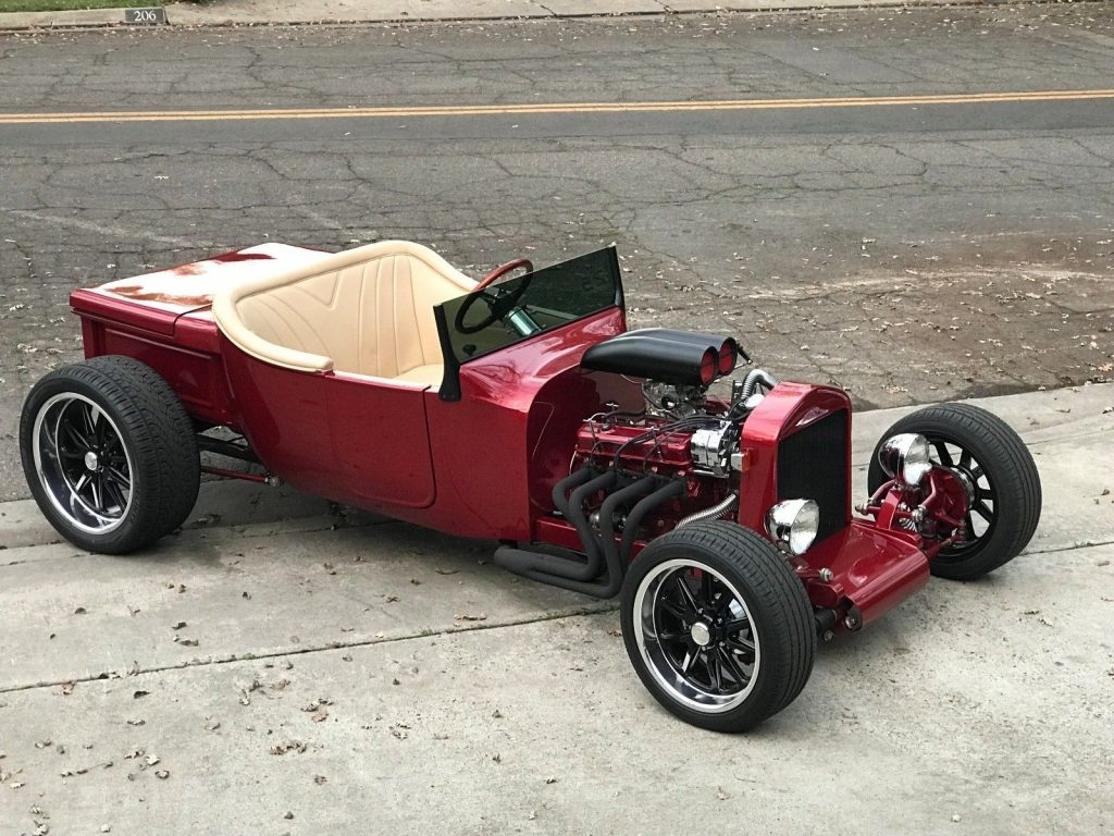 newly built bucket rod 1923 Ford hot rod