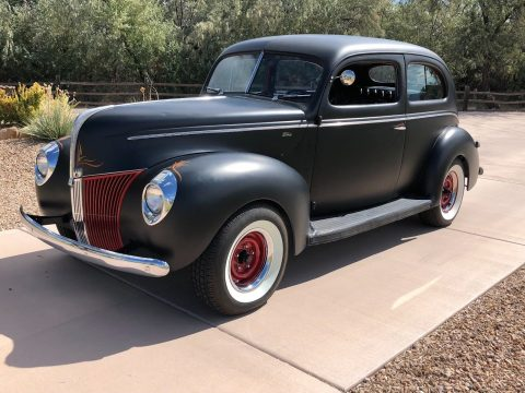 old school 1940 Ford Two Door hot rod for sale