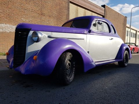 rare 1938 Nash Lafayette Business Coupe hot rod for sale