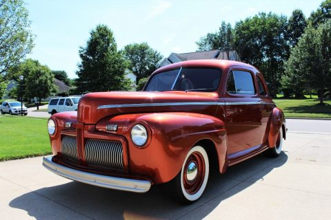 restored 1942 Ford Super Deluxe hot rod for sale