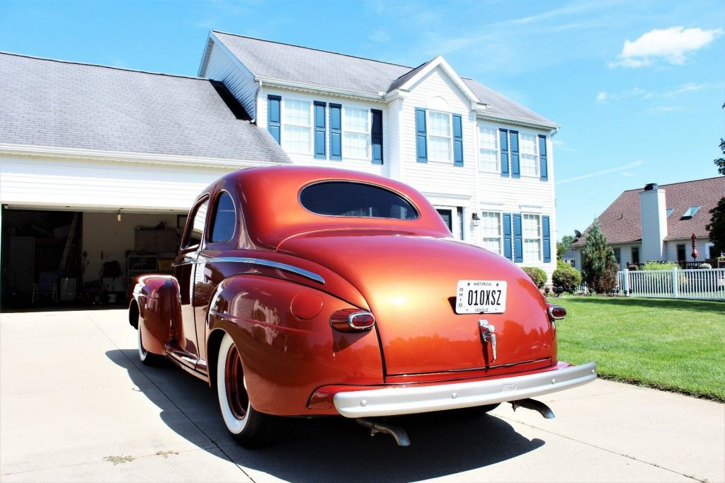 restored 1942 Ford Super Deluxe hot rod