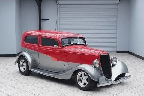 sharp 1934 Ford Sedan Hot Rod for sale