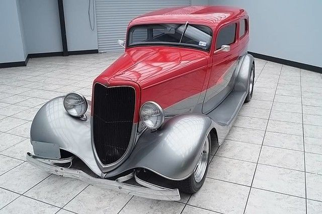 sharp 1934 Ford Sedan Hot Rod