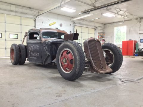 tow wrecker 1940 Ford Pickup Rat Rod hot rod for sale