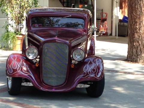 well built 1934 Chevrolet hot rod for sale