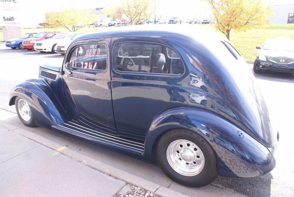 well modifieed 1937 Ford 2 Door Sedan Standard hot rod