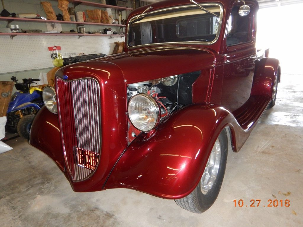 needs interior work 1935 Ford Pickup hot rod