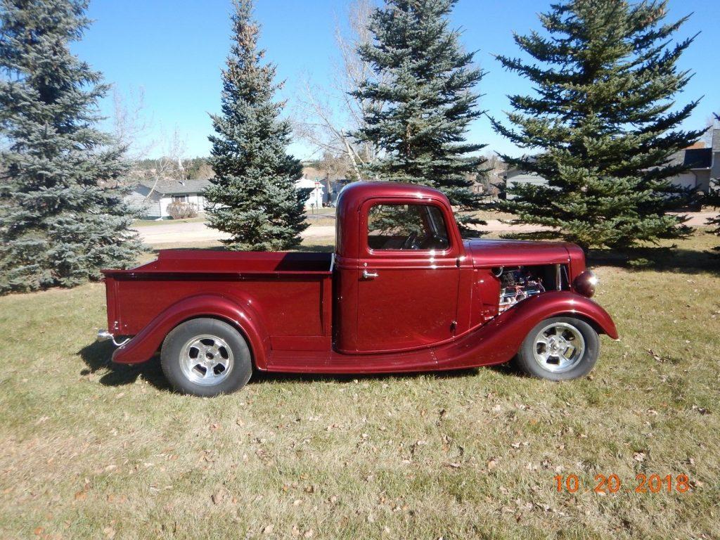 needs interior work 1935 Ford Pickup hot rod