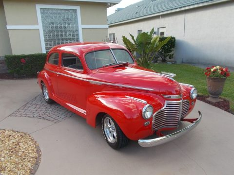 amazing 1941 Chevrolet Master Deluxe hot rod for sale