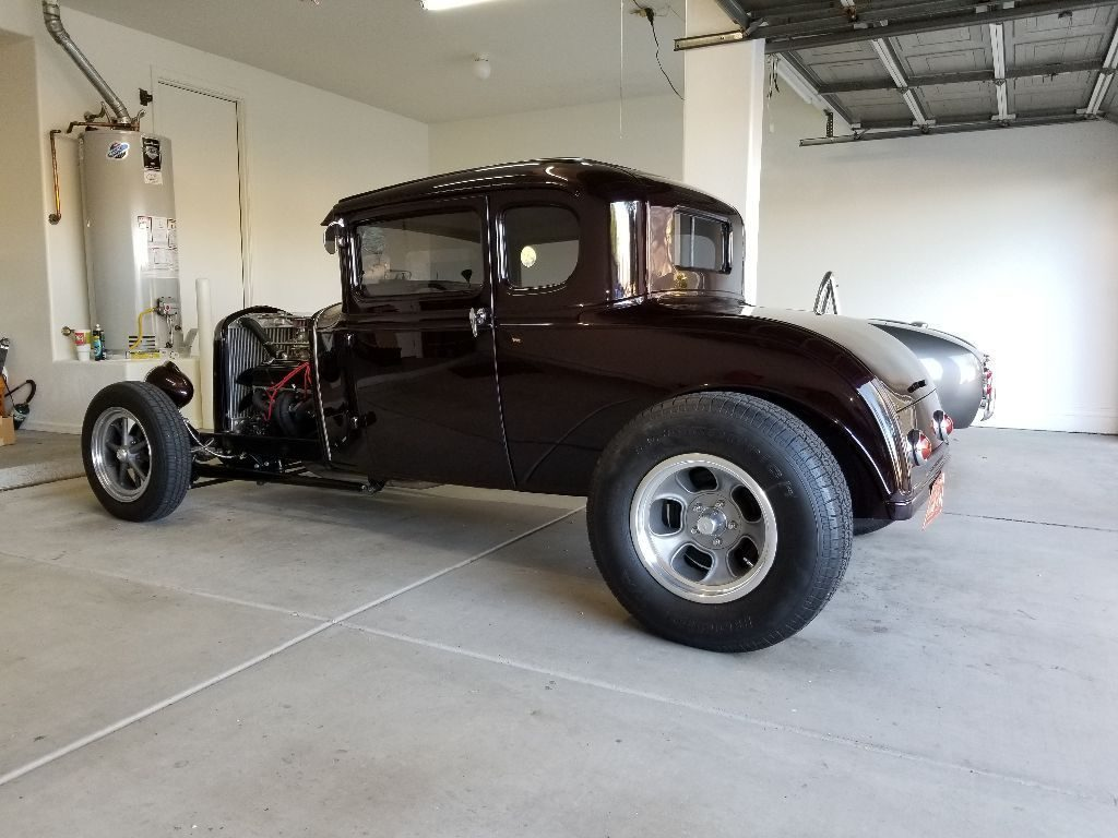 beautiful 1930 Ford Model A 5 Window coupe