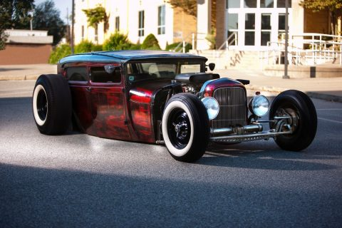 chopped 1929 Ford Model A HOT ROD for sale