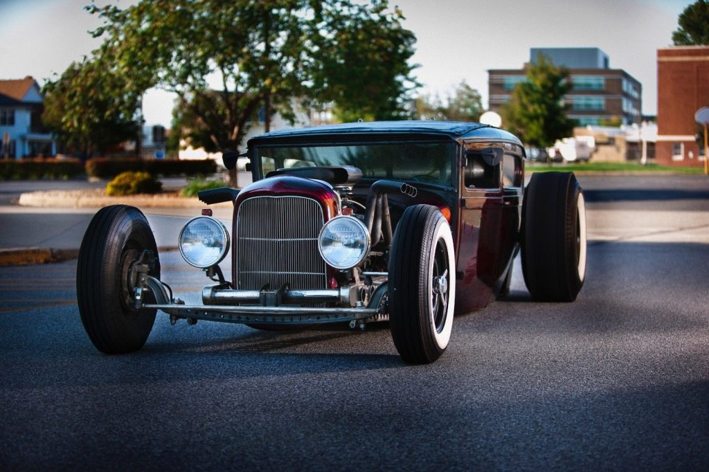chopped 1929 Ford Model A HOT ROD