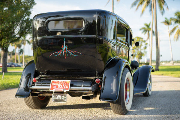 Chopped 1931 Ford Model A hot rod