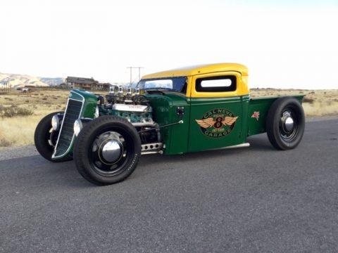 chopped 1936 International Harvester Pickup hot rod for sale