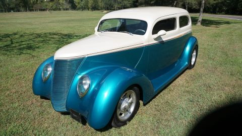 chopped 1937 Ford Sedan hot rod for sale