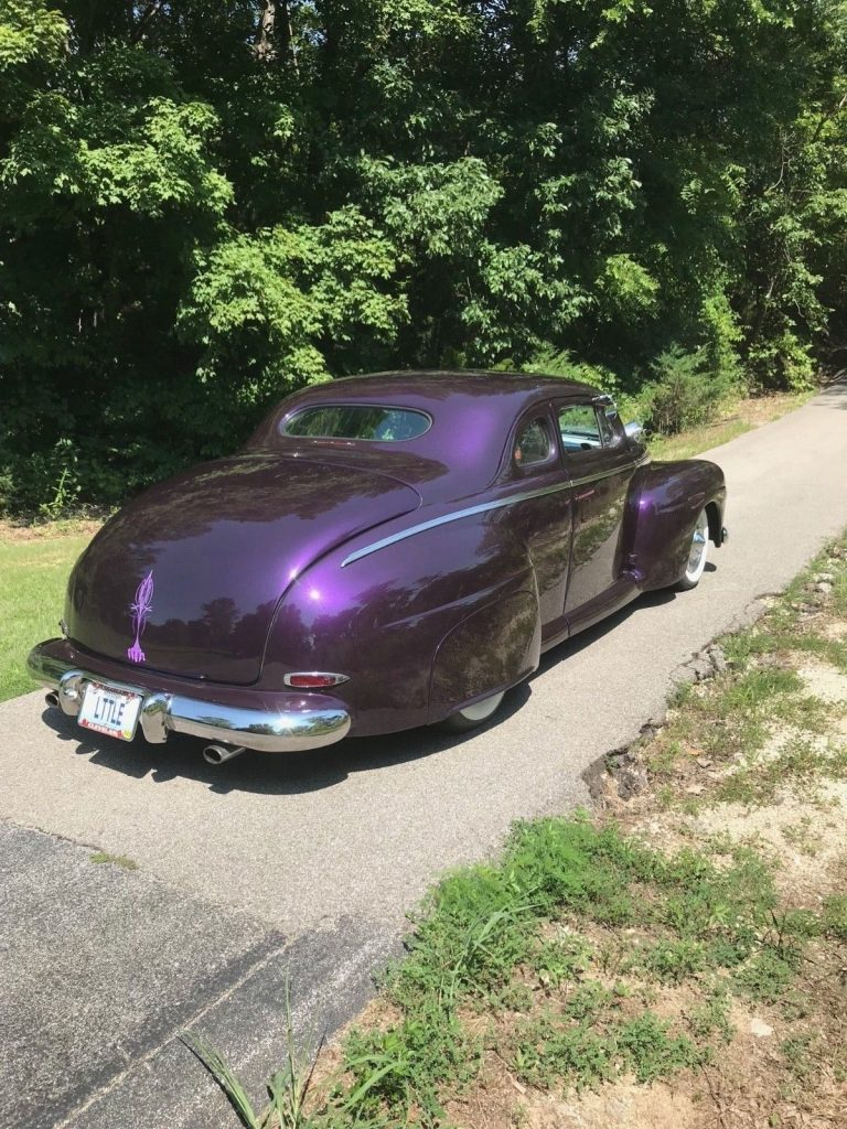 Chopped 1946 Ford lead sled hot rod
