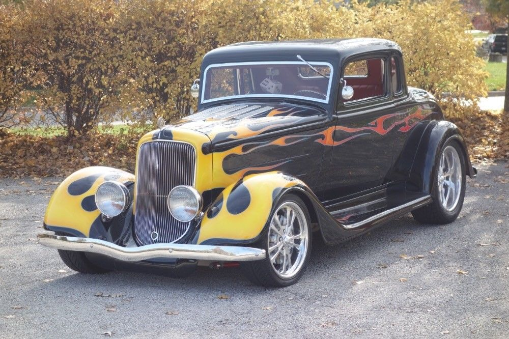 classic 1934 Plymouth Hot Rod