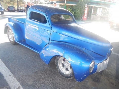 damaged 1941 Willys 439 Pickup hot rod for sale
