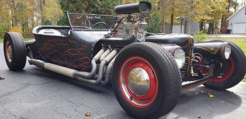 Detroit Steel 1928 Chevrolet Roadster Hot Rod for sale