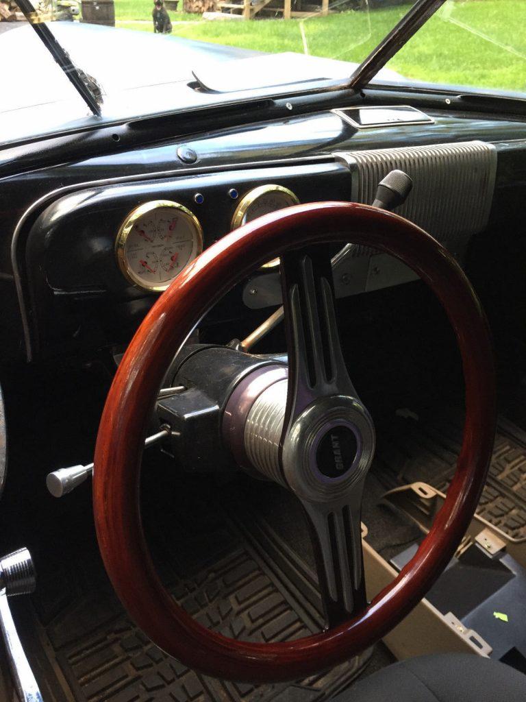 fresh undercoat 1939 Studebaker hot rod