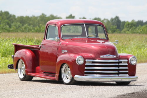 high end build 1950 Chevrolet Pickup hot rod