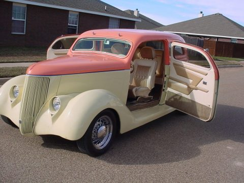 highly modified 1936 Ford 2 Door Sedan hot rod for sale