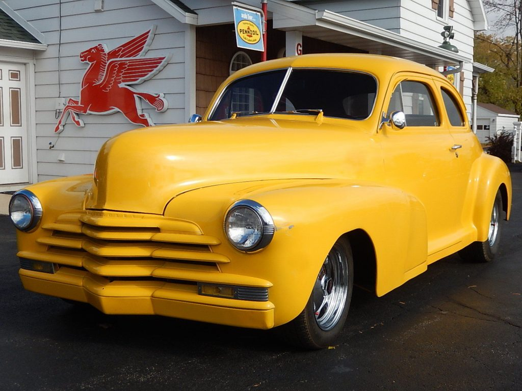 nice 1947 Chevrolet 5 Window Coupe Hot Rod