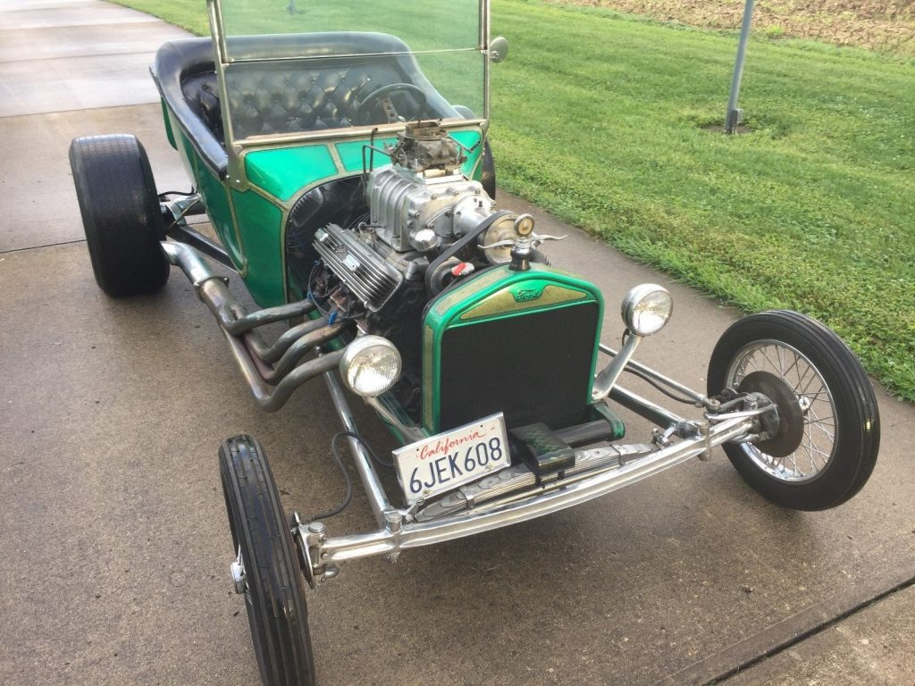old school build 1923 Ford Model T hot rod