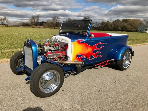 old style 1930 Ford Model A Custom Roadster Hot Rod for sale