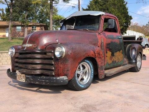 patina 1947 Chevrolet Pickup 3 Window Short Bed hot rod for sale