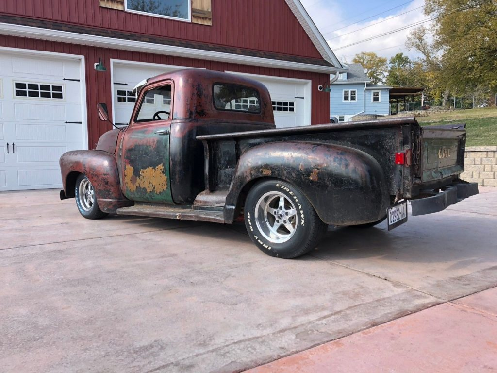 patina 1947 Chevrolet Pickup 3 Window Short Bed hot rod