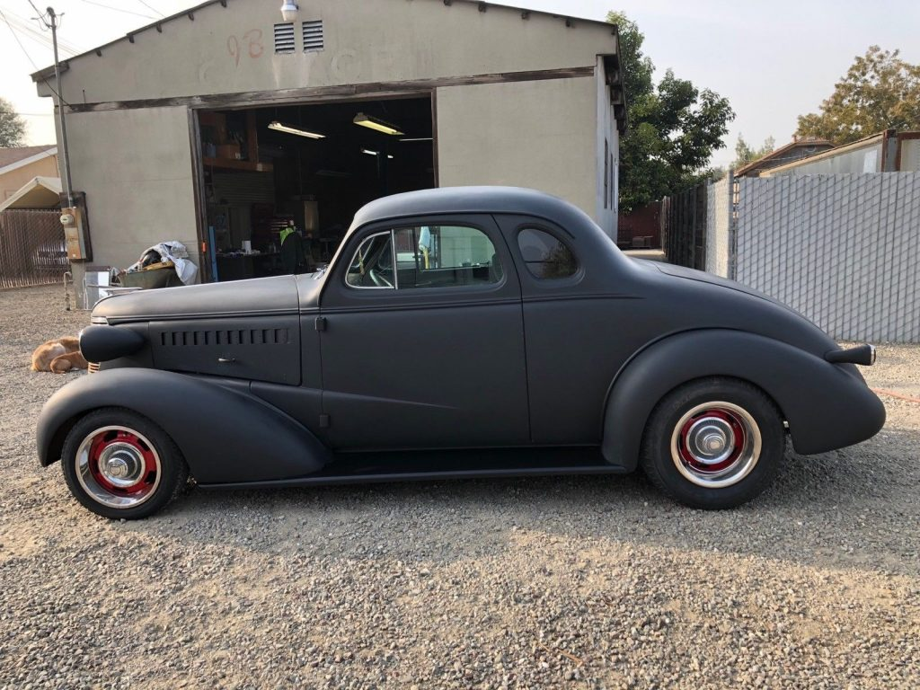 project 1938 Chevrolet Coupe Hot Rod
