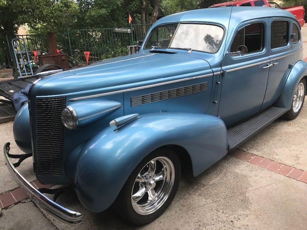 rust free 1937 Buick Sedan hot rod for sale
