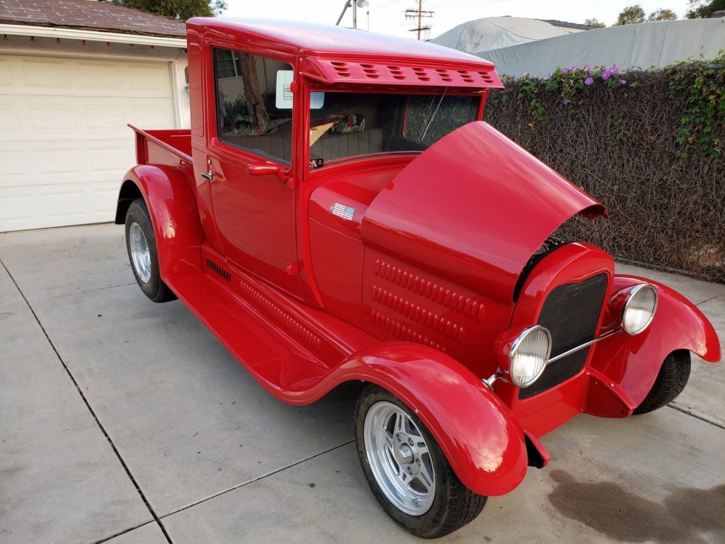 very nice 1928 Ford Model A hot rod