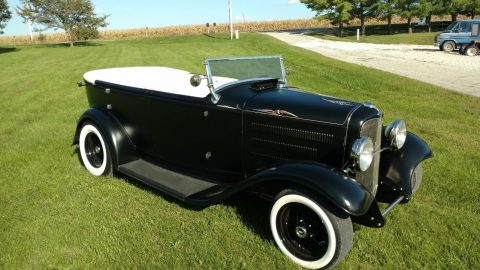 very nice 1932 Ford Phaeton Deluxe hot rod for sale