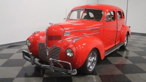 Chevrolet powered 1939 Dodge Sedan hot rod for sale