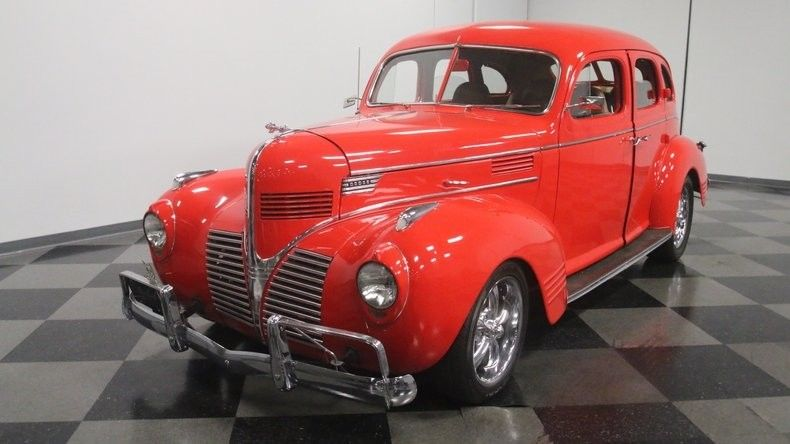 Chevrolet powered 1939 Dodge Sedan hot rod