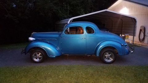 gasser 1937 Plymouth coupe hot rod for sale