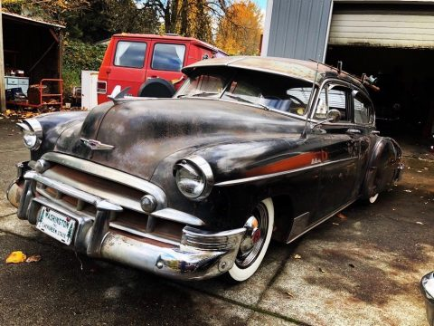 lots of extras 1949 Chevrolet Fleetline Hot Rod for sale