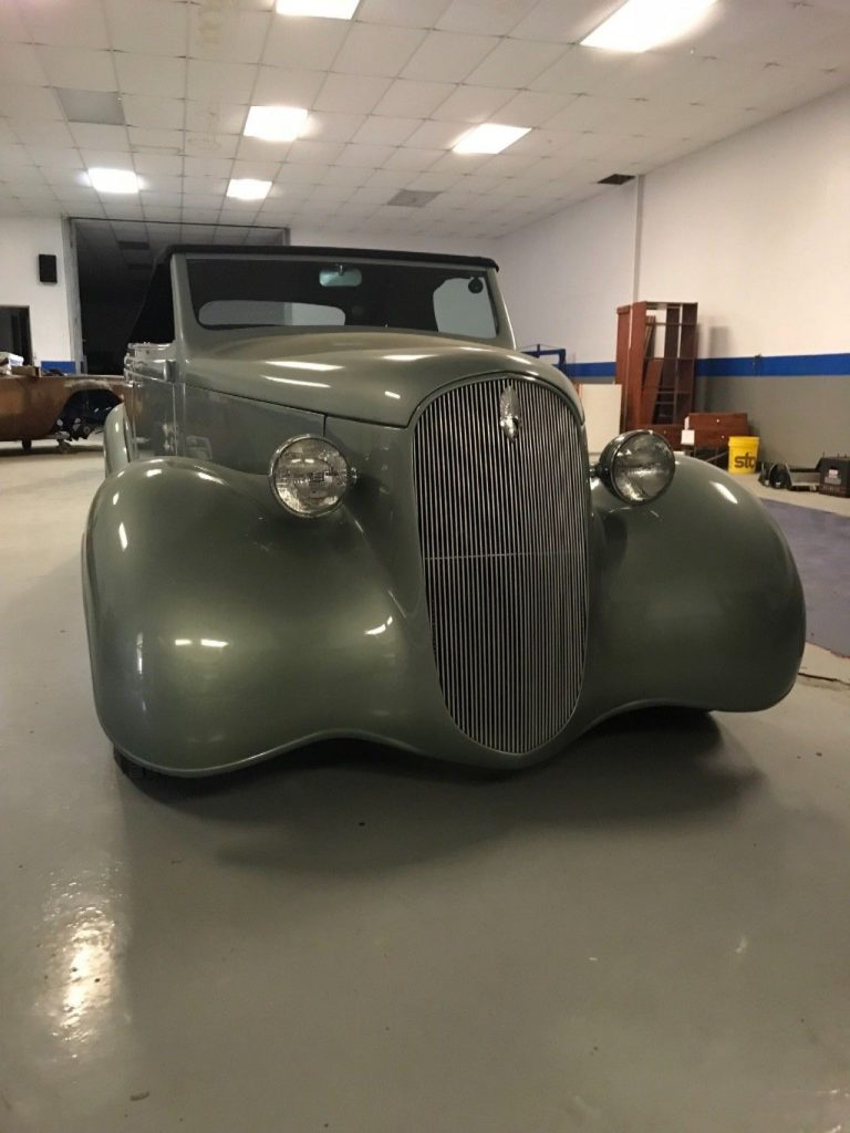 low miles 1937 Plymouth hot rod