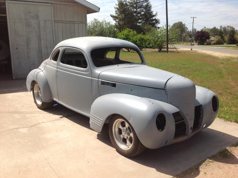 needs TLC 1939 Dodge D11 Club Coupe Hot Rod