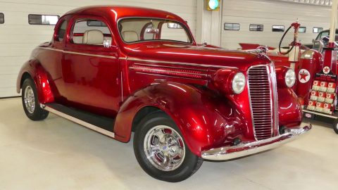 nicely modified 1937 Dodge Business Coupe hot rod for sale