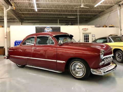 old school 1949 Ford hot rod for sale