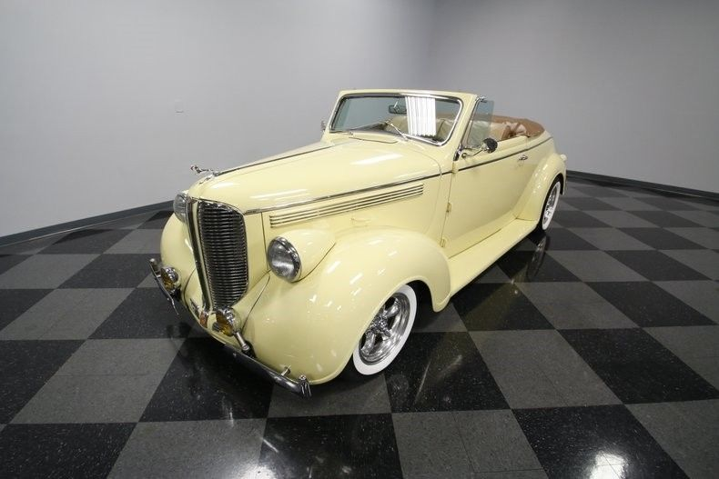 rare 1938 Dodge D8 Coupe Convertible hot rod