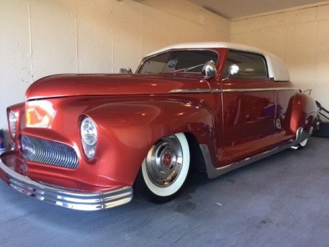 removable top 1949 Plymouth hot rod for sale
